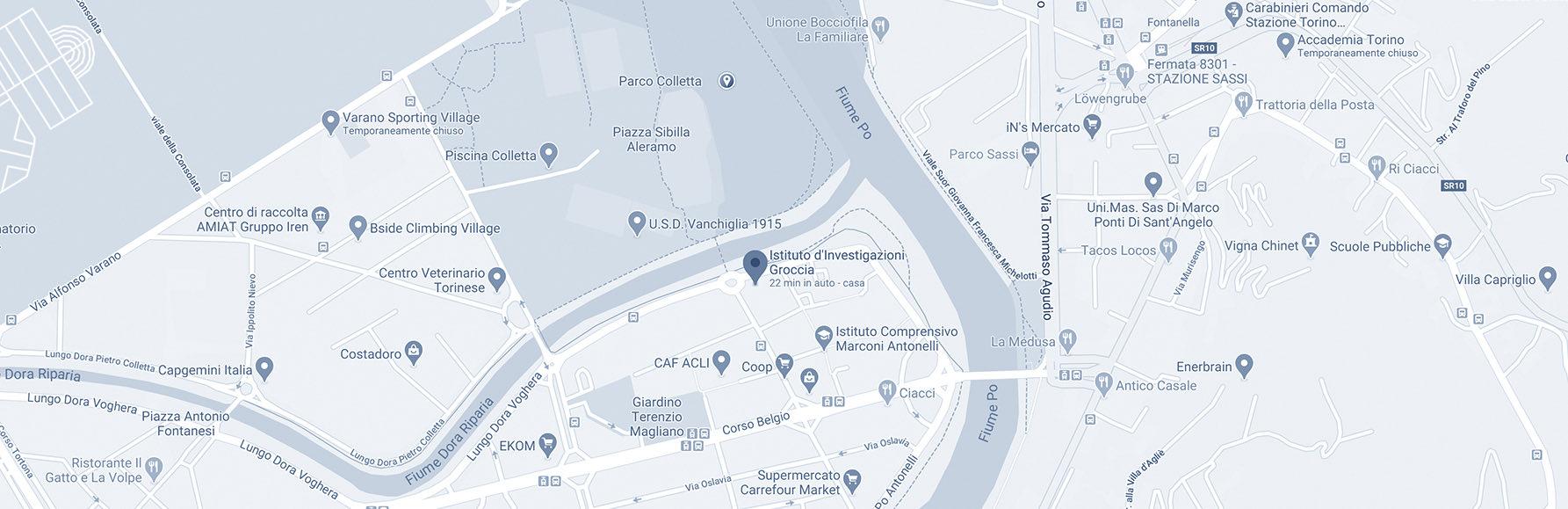 investigazioni groccia mappa